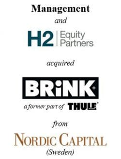Management and H2 Equity Partners acquired Brink Group from Nordic Capital