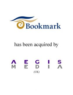 Sale of Bookmark to Aegis Media (United Kingdom)