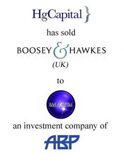 HG Capital (United Kingdom) has sold Boosey & Hawkes to Imagem Music/ABP