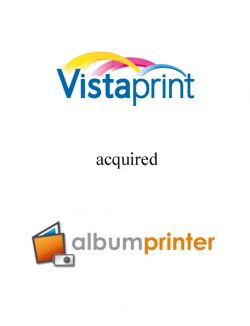 Vistaprint acquired Albumprinter