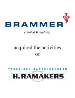 Brammer acquired the activities of Ramakers