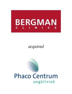 Bergman Clinics acquired eye clinic Phaco Centrum