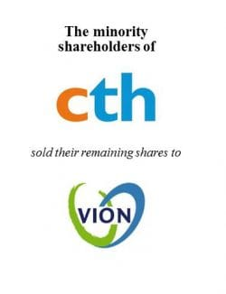 Minority shareholding in CTH and Sonac sold to VION Ingredients