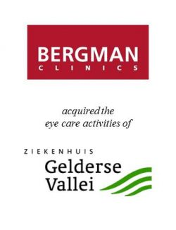 Bergman Clinics acquired the eye care activities of Ziekenhuis Gelderse Vallei