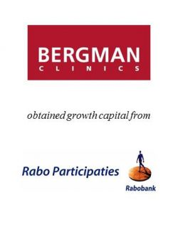 Bergman Clinics obtained growth capital from Rabo Participaties