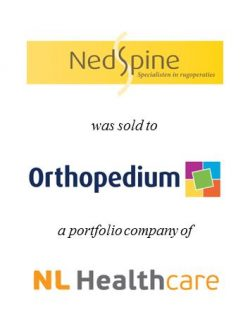 NedSpine was acquired by Orthopedium Holding, a portfolio company of NL Healthcare