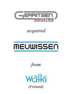 Gerritsen Industrie acquired Meuwissen Bouwprodukten