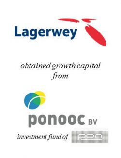 Lagerwey obtained growth capital from Ponooc