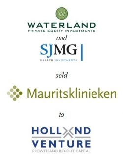 Waterland Private Equity and founders sold Mauritsklinieken to Holland Venture