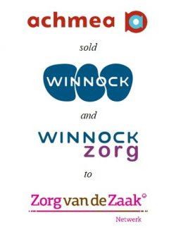 Achmea sold Winnock to Zorg van de Zaak Netwerk
