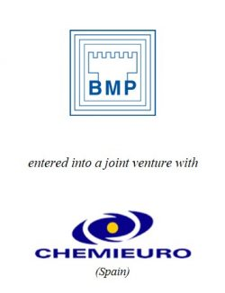 BMP Benelux entered into a joint venture with Chemieuro