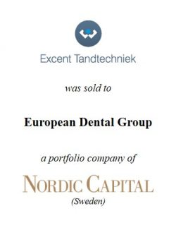European Dental Group (Nordic Capital) acquired Excent Tandtechniek