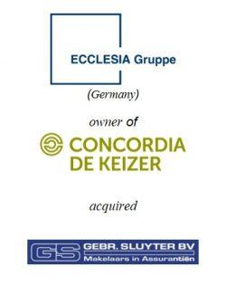 Ecclesia Gruppe acquired Gebr. Sluyter