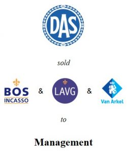 DAS sold its bailiffs and debt collection activities to co-shareholder Mr. Bos