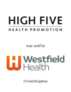 High Five Health Promotion was sold to Westfield Health