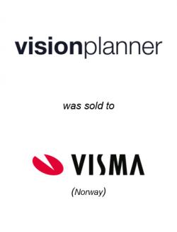 Visionplanner was sold to Visma
