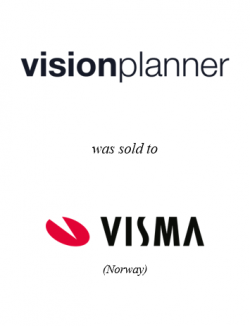Visionplanner was sold to Visma