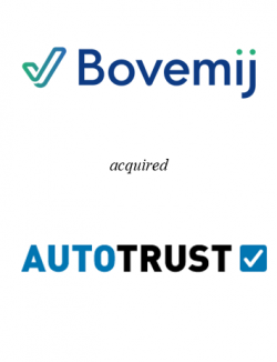 Bovemij acquired Autotrust