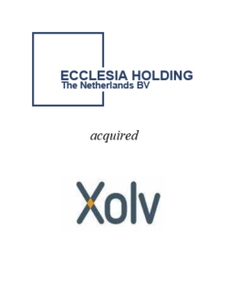 Xolv Finance acquired by Ecclesia Group