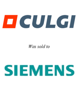 Culgi sold to Siemens