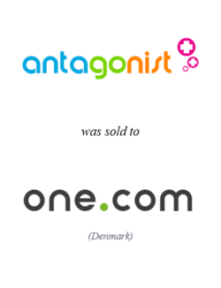 Antagonist was sold to one.com